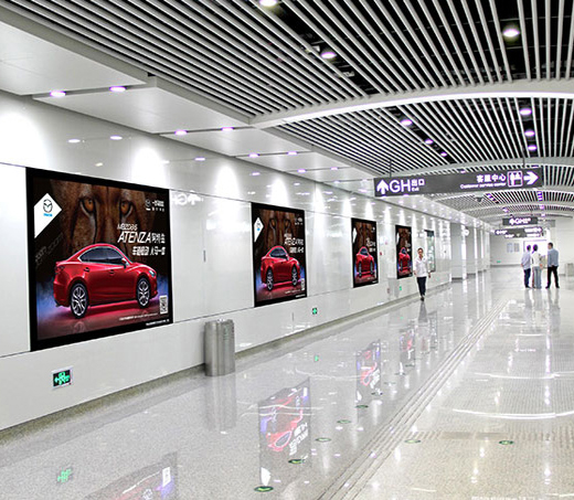 珠海机场高端UV喷绘灯箱
