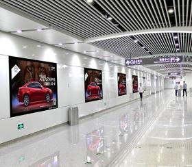 中山机场高端UV喷绘灯箱
